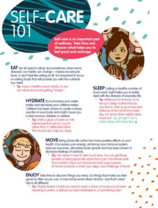Self-Care 101 for Students