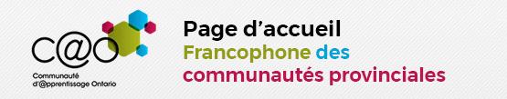Enfin, en cliquant sur l'icône ci-haut avec les petits carrés vous pourrez retrouver la C@O que vous désirez accéder.