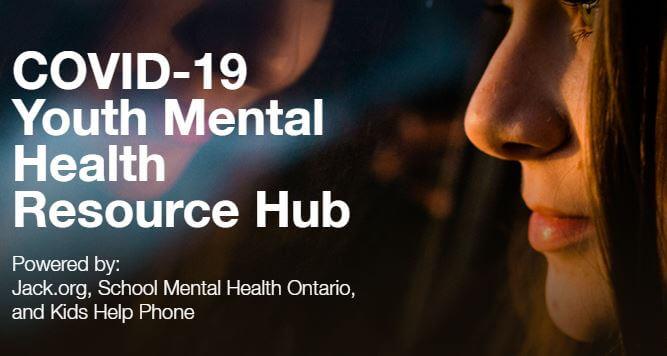 COVID-19 Youth Mental Health Resource Hub