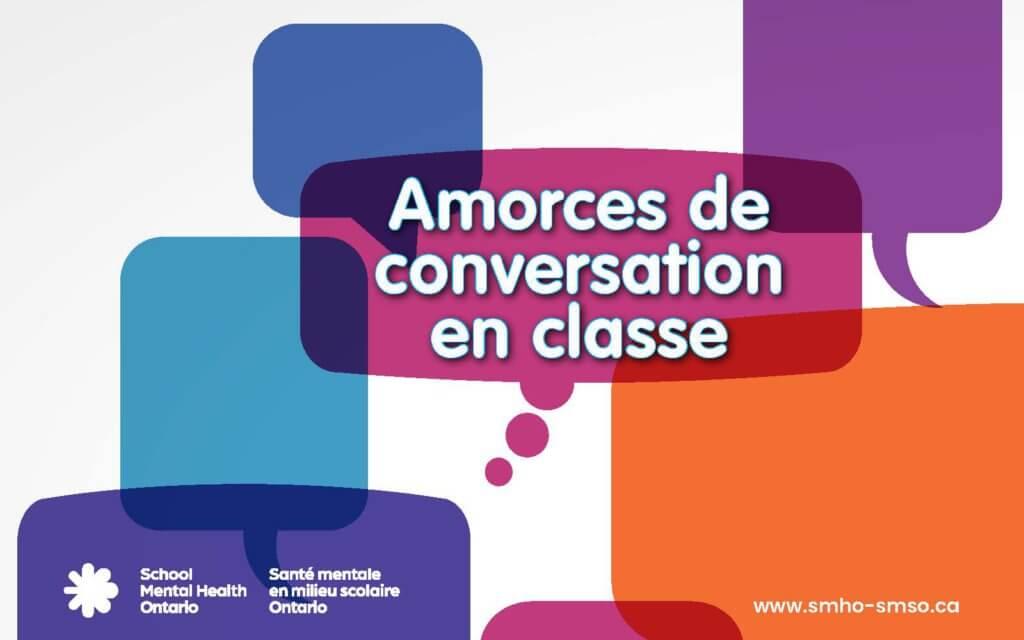 Amorces de conversation en classe