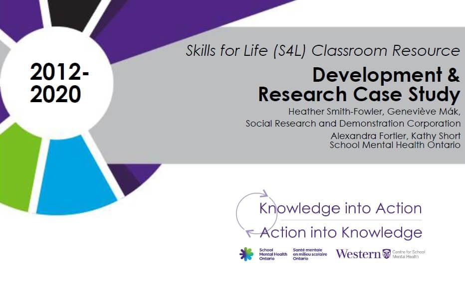 Skills for Life (S4L) Classroom Resource