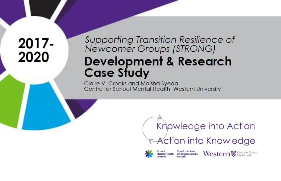 Supporting Transition Resilience of Newcomer Groups (STRONG)